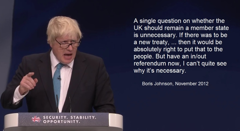 Boris Johnson debate 1