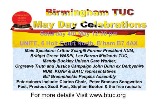 May Day Event 2019